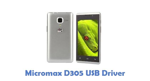 Micromax D305 USB Driver
