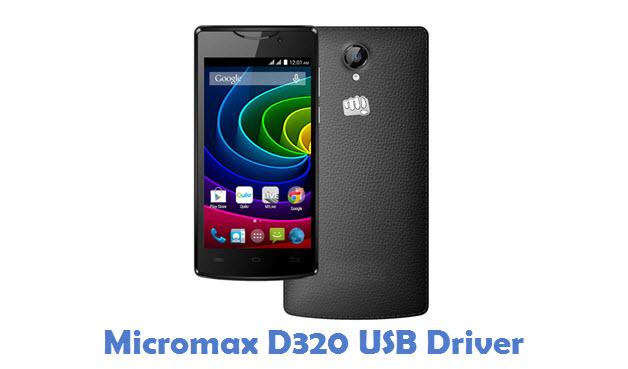 Micromax D320 USB Driver