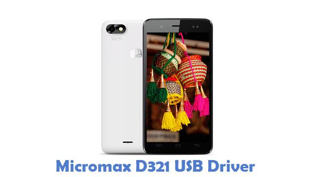 Micromax D321 USB Driver