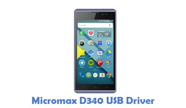 Micromax D340 USB Driver