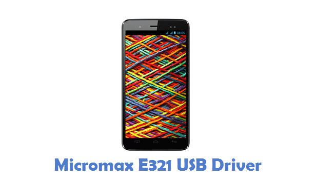 Micromax E321 USB Driver