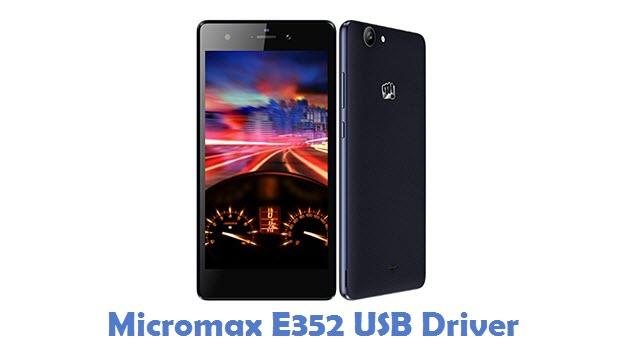 Micromax E352 USB Driver