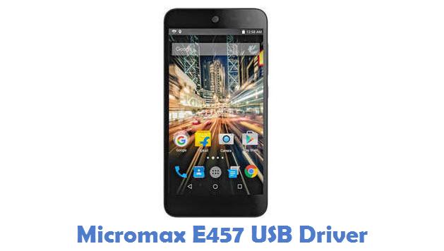 Micromax E457 USB Driver