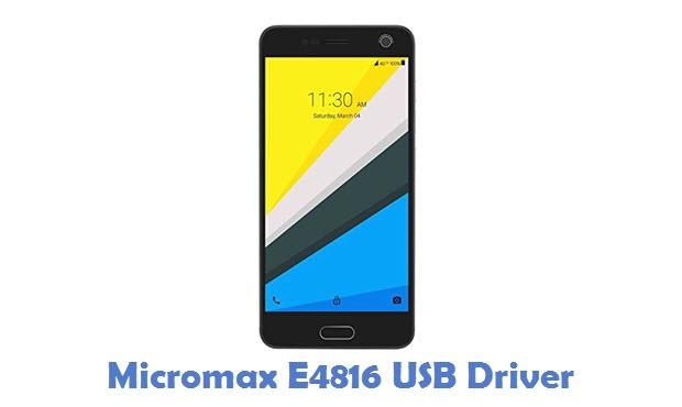 Micromax E4816 USB Driver