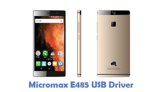 Micromax E485 USB Driver