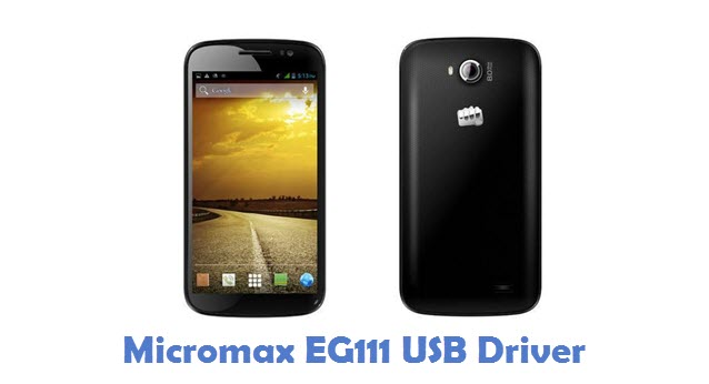 Micromax EG111 USB Driver