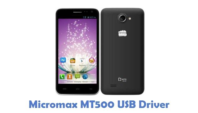 Micromax MT500 USB Driver