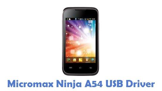 Micromax Ninja A54 USB Driver