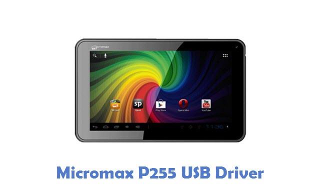 Micromax P255 USB Driver
