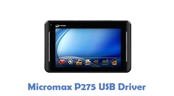 Micromax P275 USB Driver