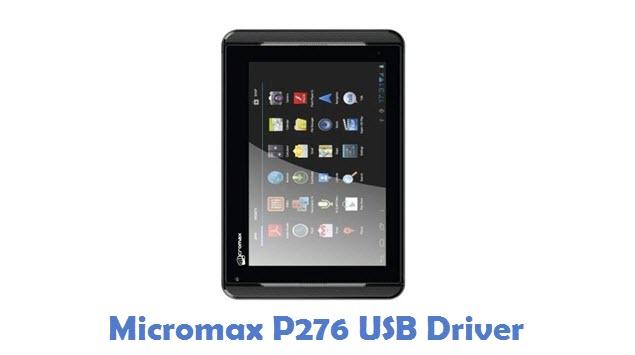 Micromax P276 USB Driver