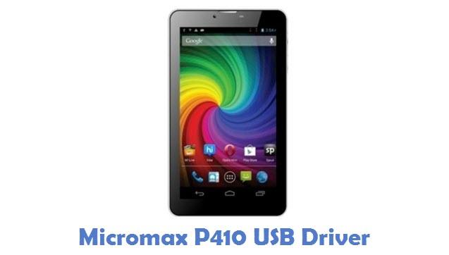 Micromax P410 USB Driver