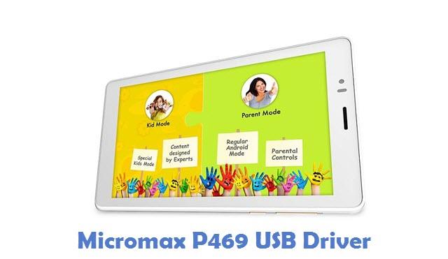 Micromax P469 USB Driver
