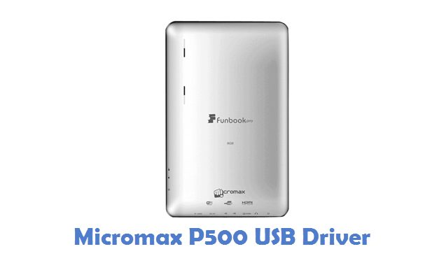 Micromax P500 USB Driver