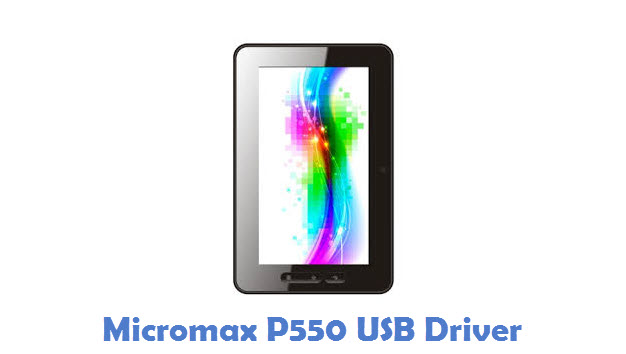 Micromax P550 USB Driver
