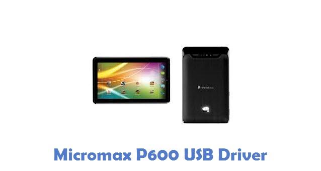 Micromax P600 USB Driver