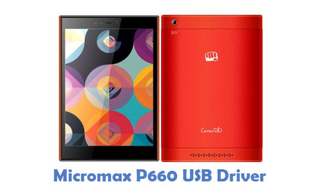 Micromax P660 USB Driver