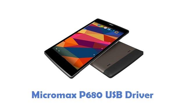 Micromax P680 USB Driver