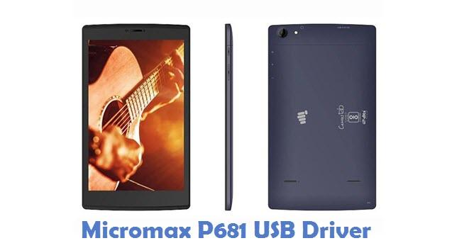 Micromax P681 USB Driver