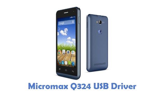 Micromax Q324 USB Driver