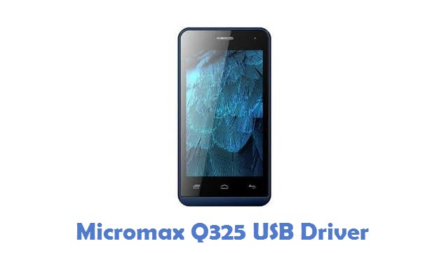 Micromax Q325 USB Driver