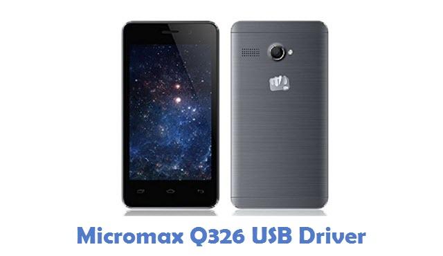 Micromax Q326 USB Driver