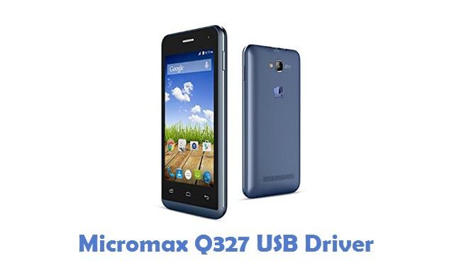 Micromax Q327 USB Driver