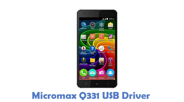 Micromax Q331 USB Driver