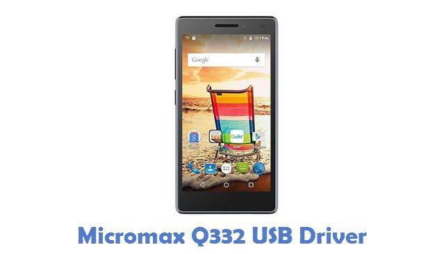 Micromax Q332 USB Driver