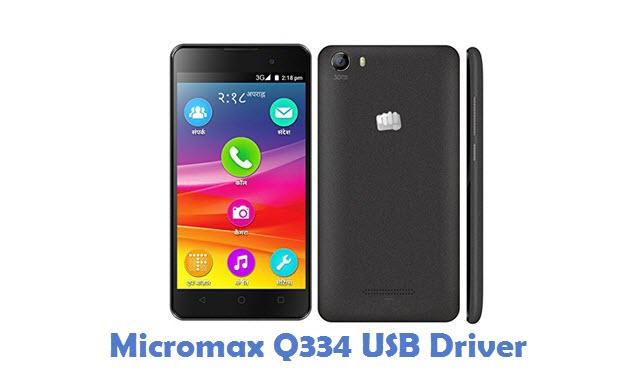 Micromax Q334 USB Driver