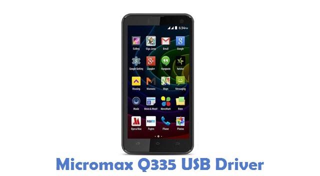 Micromax Q335 USB Driver