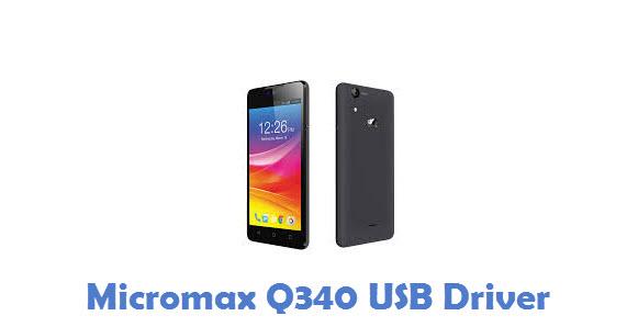 Micromax Q340 USB Driver