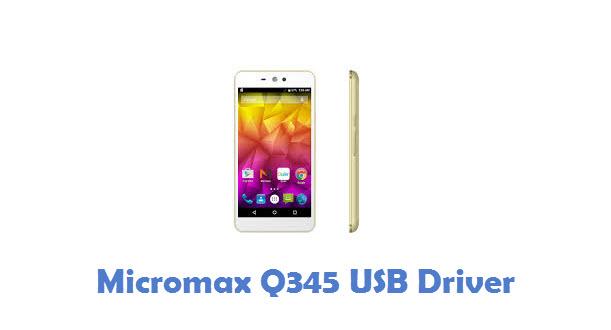Micromax Q345 USB Driver