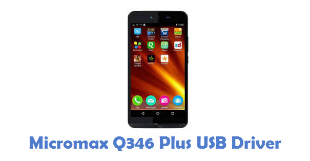 Micromax Q346 Plus USB Driver