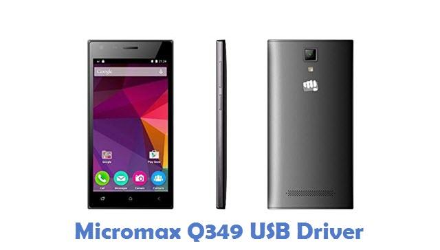 Micromax Q349 USB Driver