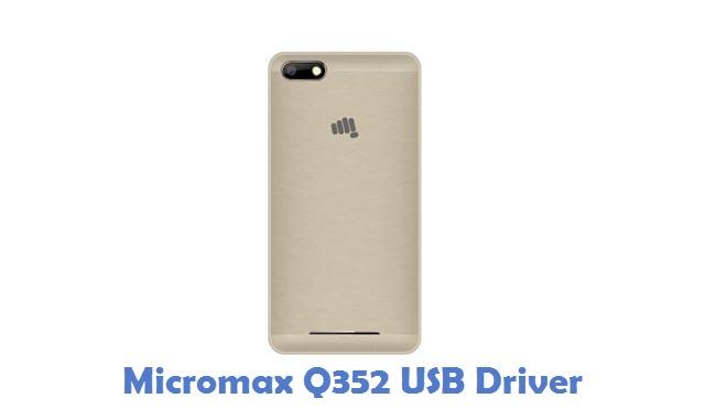 Micromax Q352 USB Driver