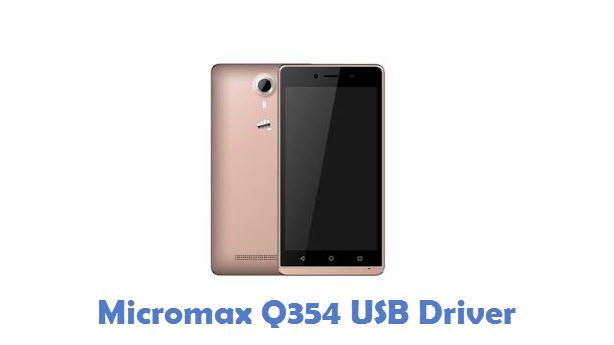 Micromax Q354 USB Driver