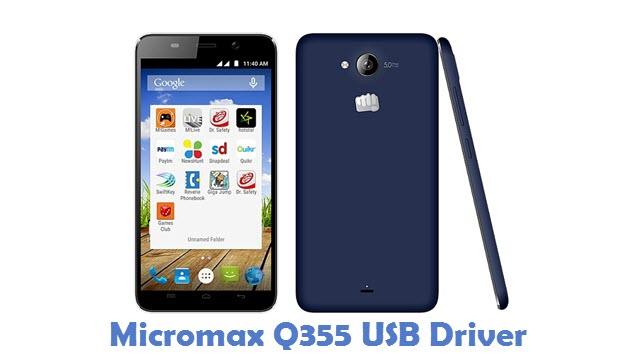 Micromax Q355 USB Driver