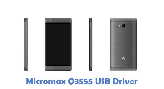 Micromax Q3555 USB Driver