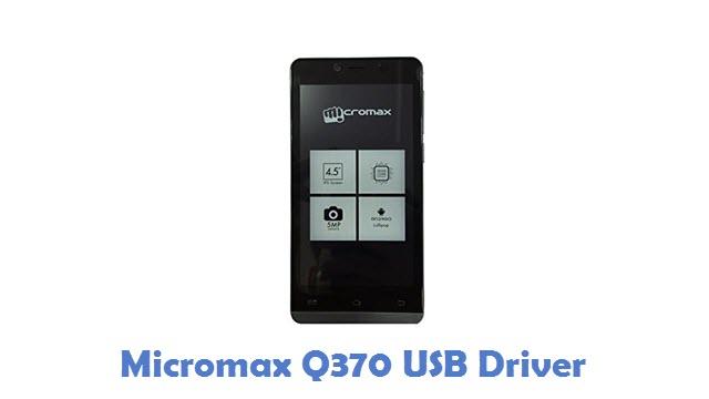Micromax Q370 USB Driver
