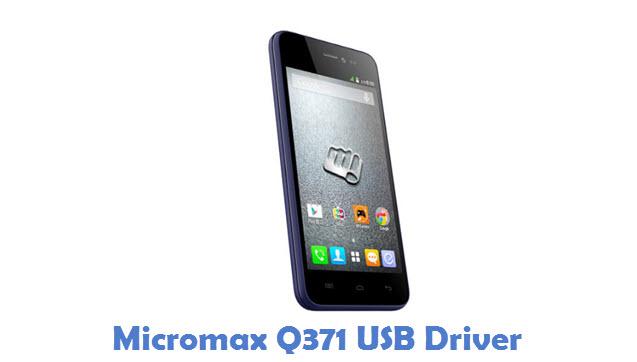 Micromax Q371 USB Driver