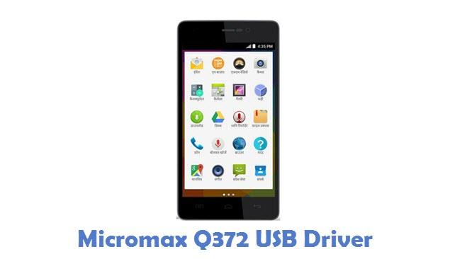 Micromax Q372 USB Driver