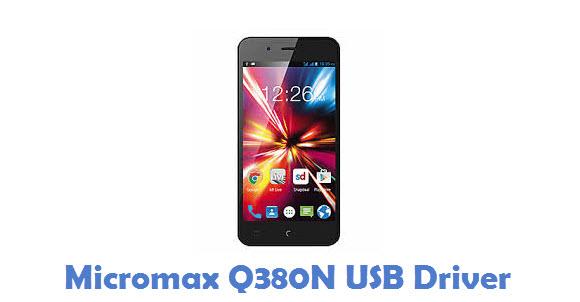 Micromax Q380N USB Driver