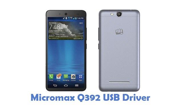 Micromax Q392 USB Driver