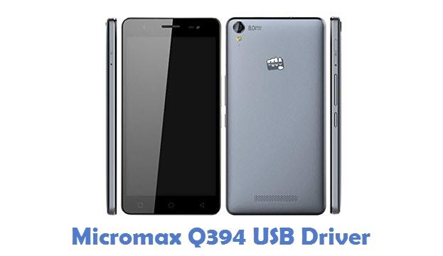 Micromax Q394 USB Driver
