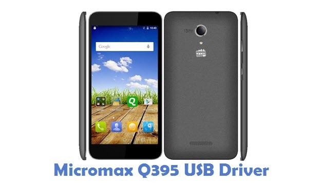 Micromax Q395 USB Driver