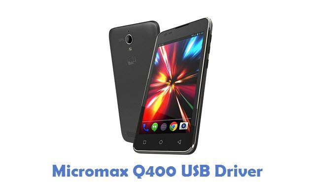 Micromax Q400 USB Driver