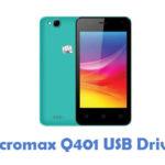 Micromax Q401 USB Driver