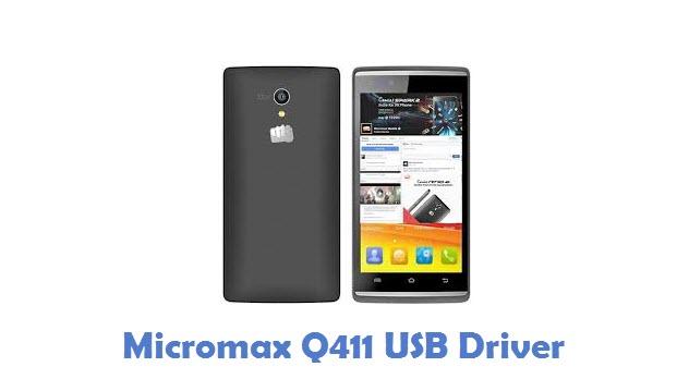 Micromax Q411 USB Driver