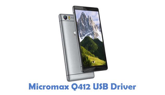 Micromax Q412 USB Driver